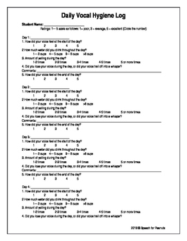 voice therapy exercises pdf