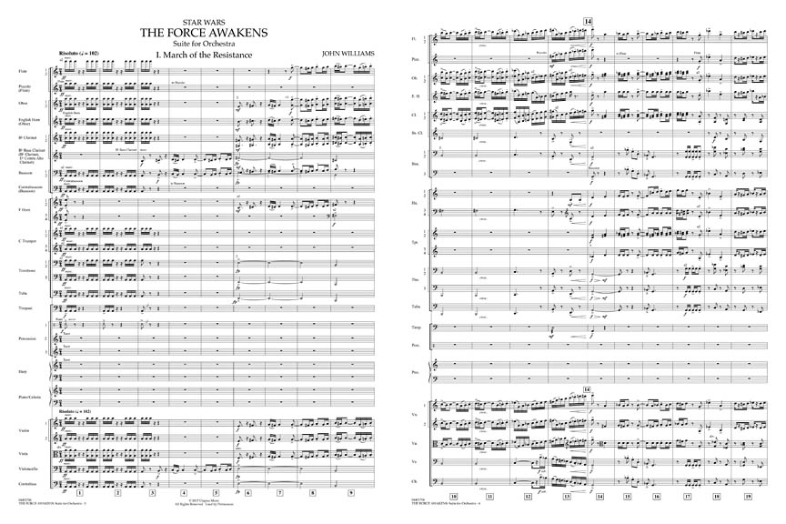 star wars suite for orchestra pdf parts