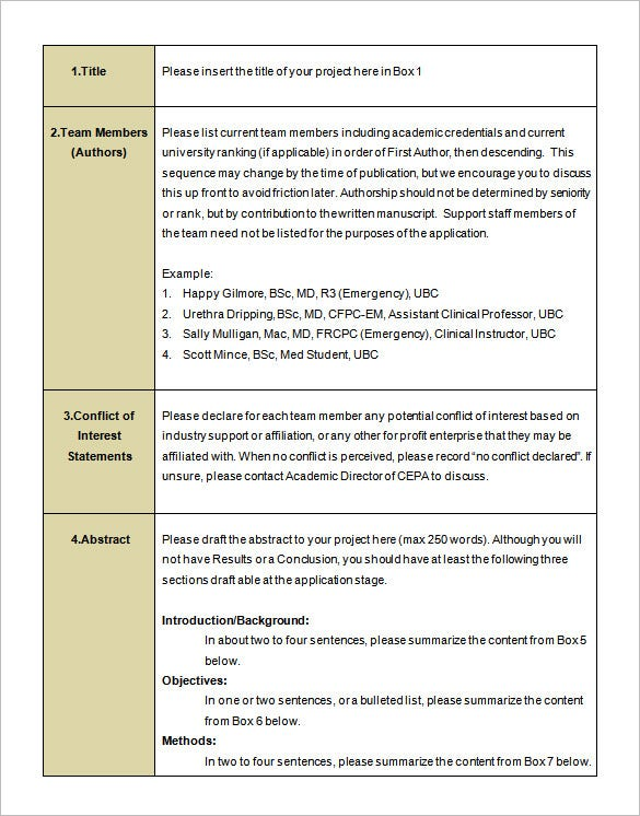 student research proposal example pdf