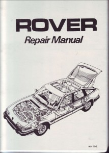 rover sd1 gearbox rebuild manual