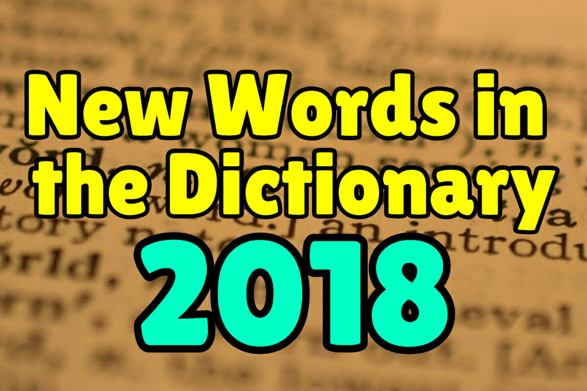 new words added to the dictionary