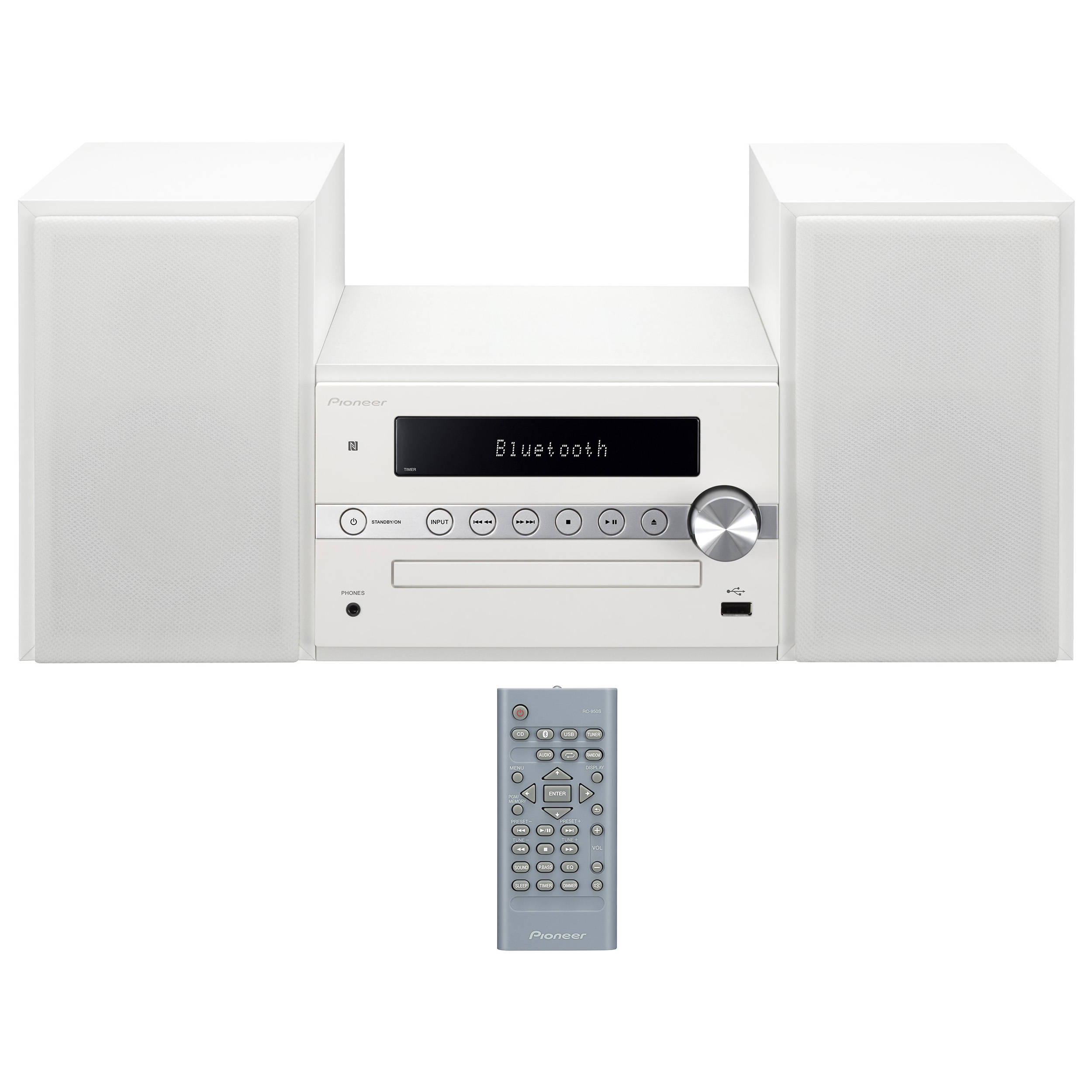 pioneer x-cm56w micro stereo system manual